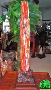 NO.5173红色树化玉